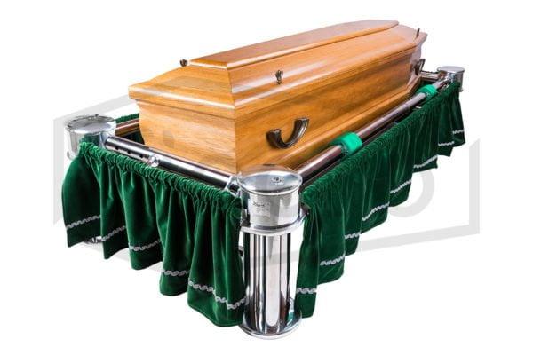 Winda pogrzebowa Junkin z podstawą